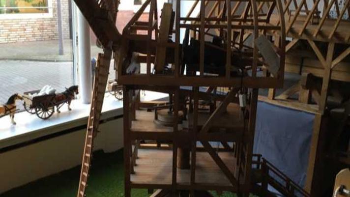Aufbau einer alten Schoppe für Mühlenmodelle