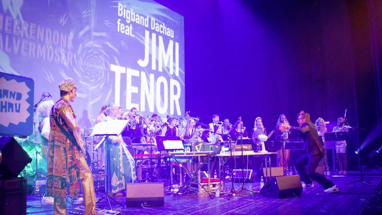 Live-CD Bigband Dachau feat. Jimi Tenor