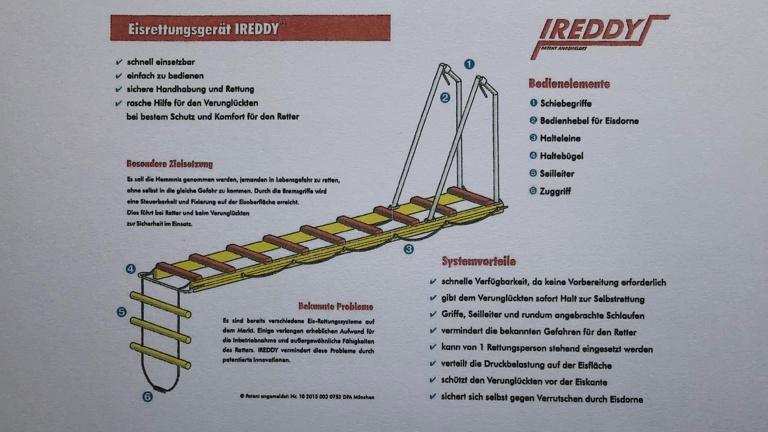 Eisrettungsgerät IREDDY