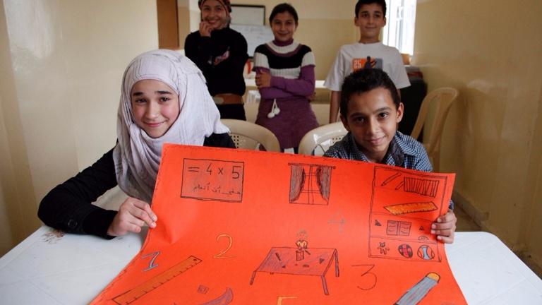Aufbau einer Schule in Idlib - Syrien