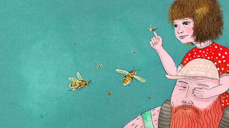 Kinder für Bienen begeistern