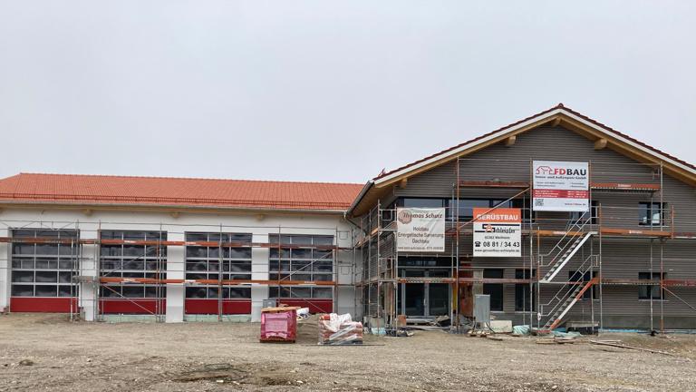 Einrichtung neues Feuerwehr-Gerätehaus