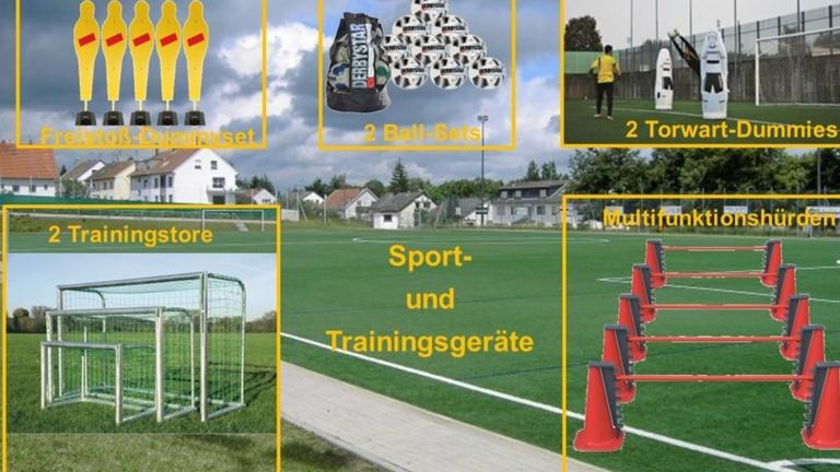 Anschaffung Sport- und Trainingsgeräte