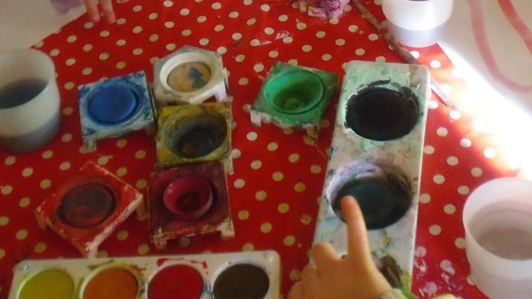 Ein Atelier für kleine Künstler