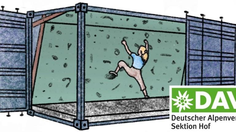 Bouldercontainer für die DAV Jugend