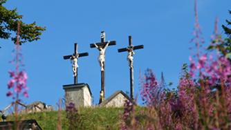 Restaurierung der Kreuze