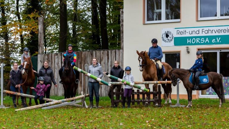 """Trainingsparcours für den RuFV """"Horsa"""", Bissendorf"""