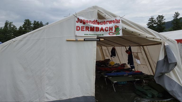 PROJEKT 2019: Zelt für Jugendfeuerwehr