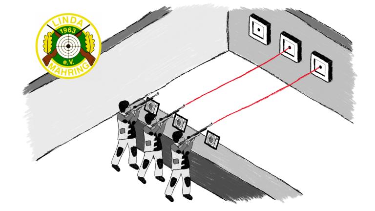 Lichtpunktschießanlage für die Schützenjugend