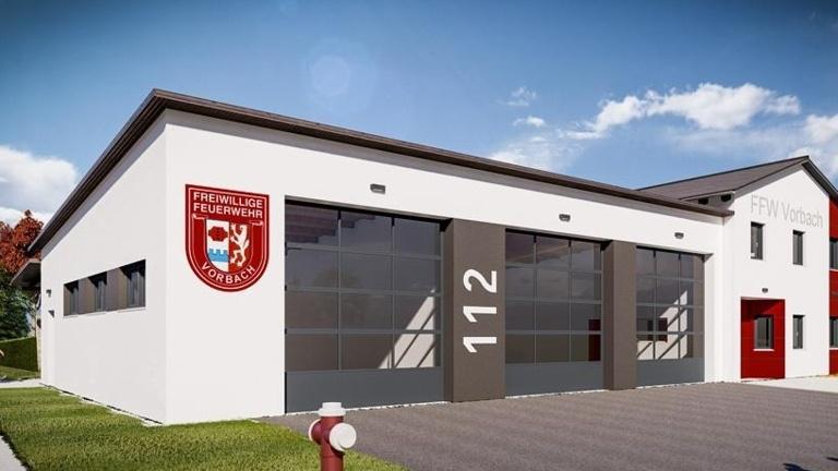Neubau Feuerwehrgerätehaus in Vorbach