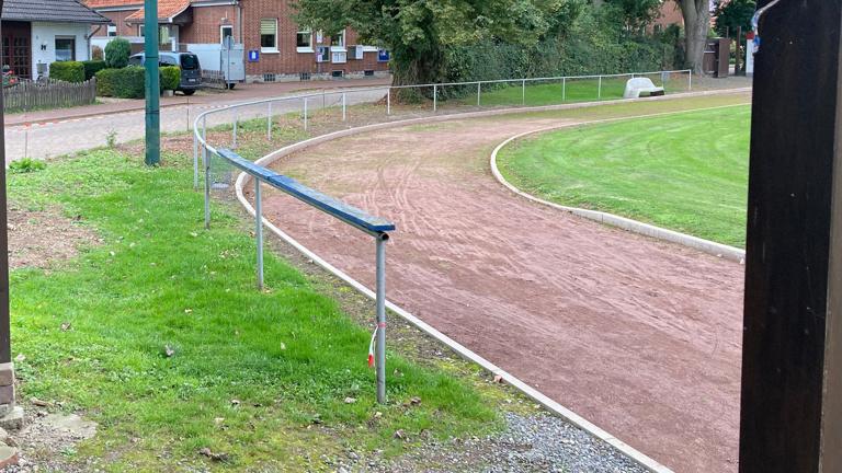 Ziel: Ausbau Sanierung und Fertigstellung des Sportgeländes