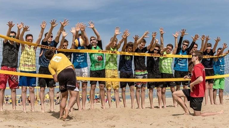 Erneuerung Beachvolleyballanlage