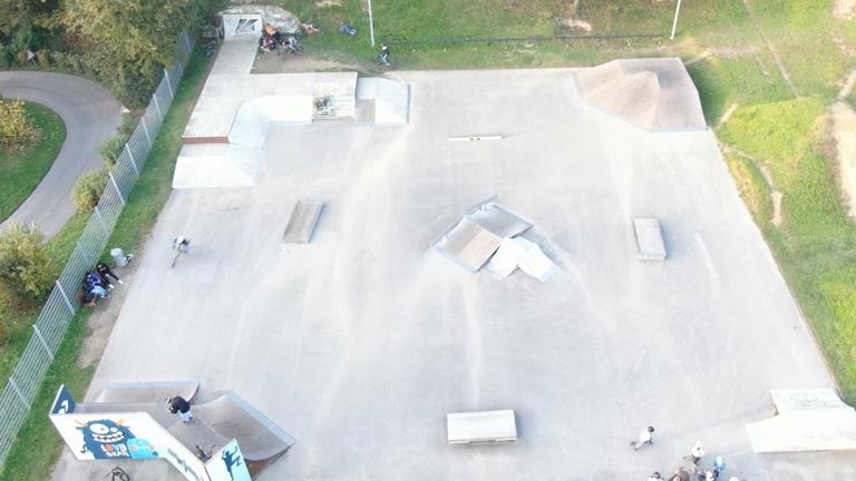 Umbau des Skatepark in Simbach am Inn