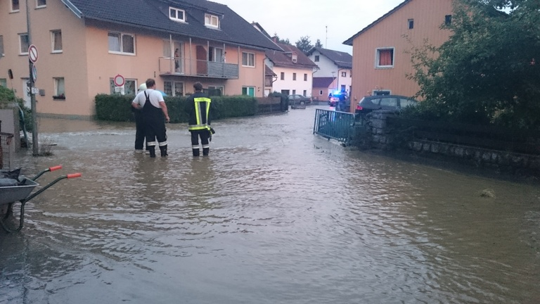 Hochwasserschutzpumpe