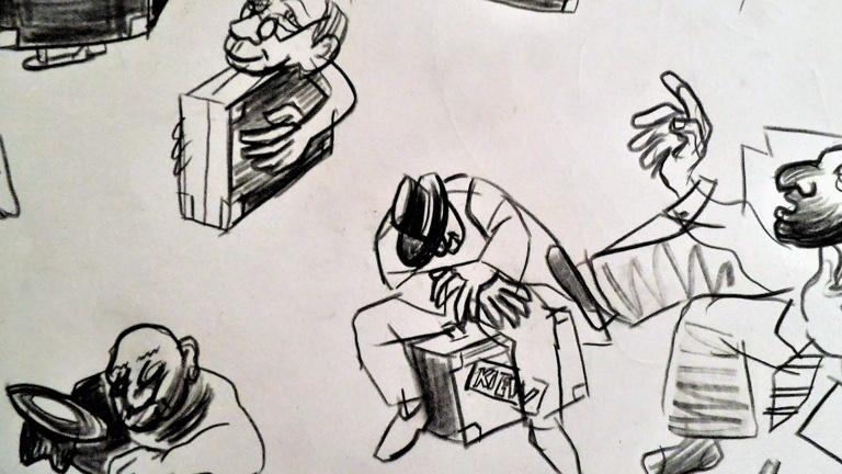Kunst aus Koffern: Die Spuren verfolgter Künstler