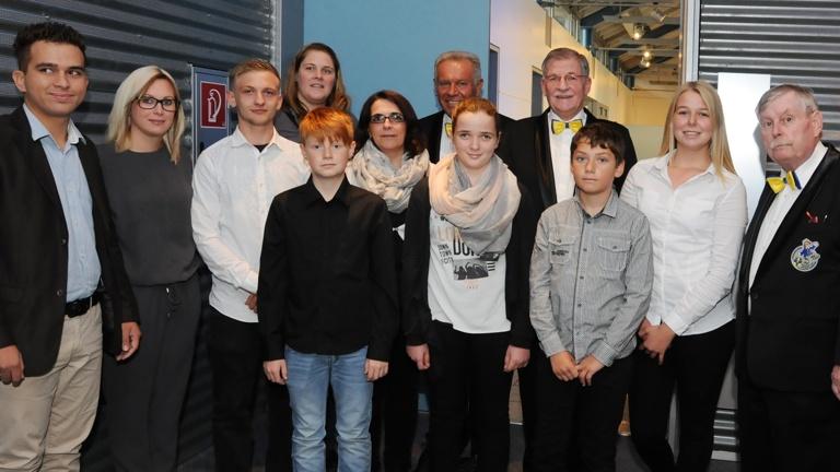 Standarte für Festkomitee Alsdorf Abt. Kinderprinz
