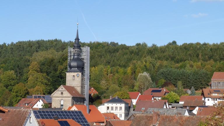 Tonanlage – ev. Kirche Obernsees