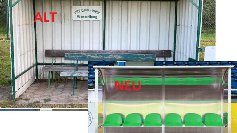 Neue Spielerkabinen FSV Wimmelburg