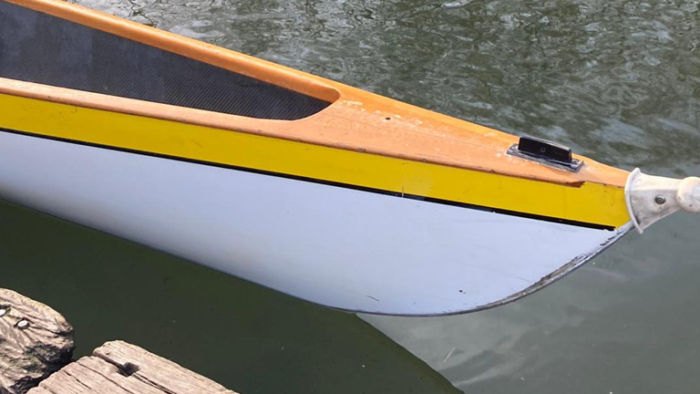 Neues Ruderboot: C-Gig-Doppel-Zweier