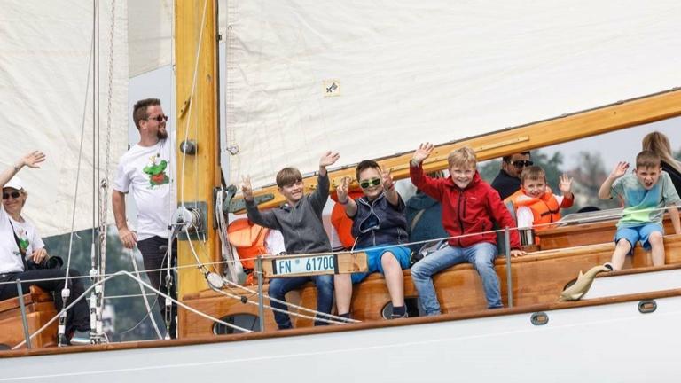 Tender-Schlauchboot für TIOGA -  für Sicherheit