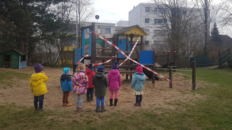 Unsere Kinder möchten wieder klettern können...