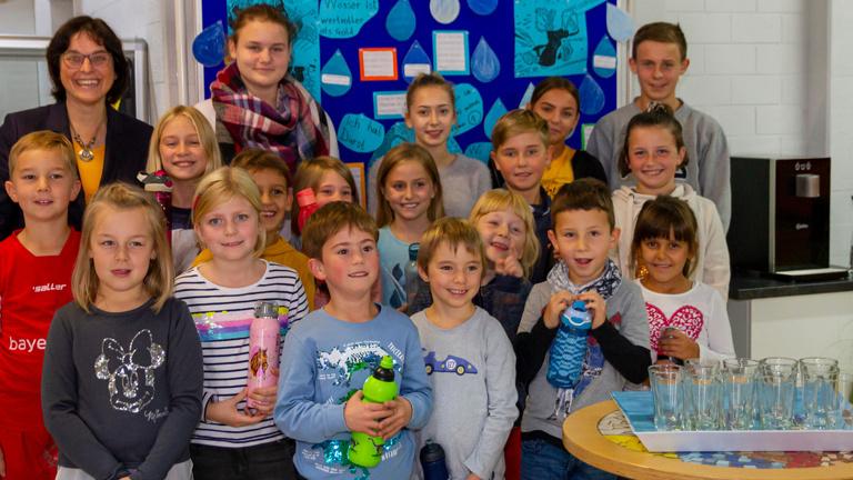Trinkwasserspender für die Schule Dietfurt