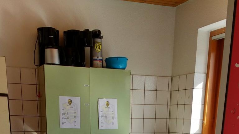 Erneuerung der Küche am Kunstrasen