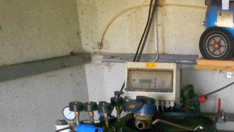 Brunnenbau Isselstadion