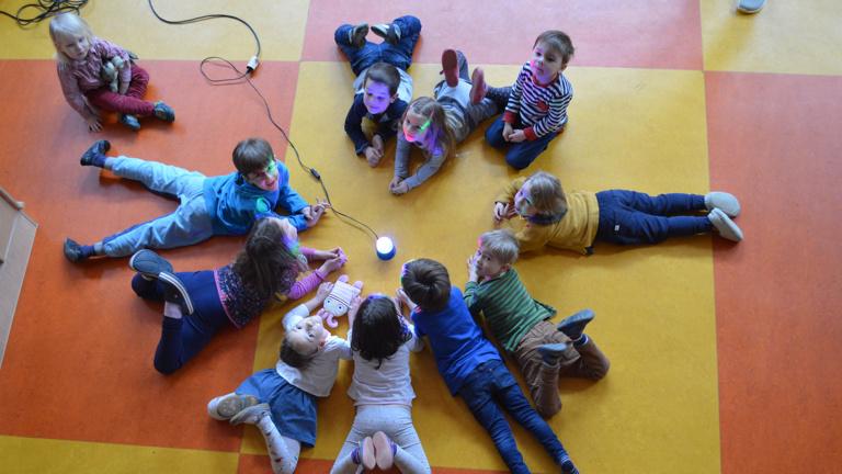 Snoezelraum für unseren Kindergarten - zum Träumen