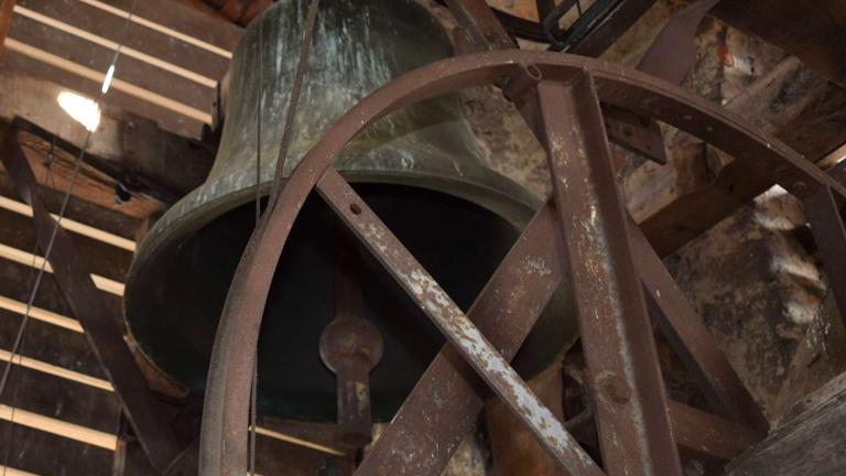 Sanierung Glockenstuhl und Kirchturm St. Peter und Paul, Hartheim