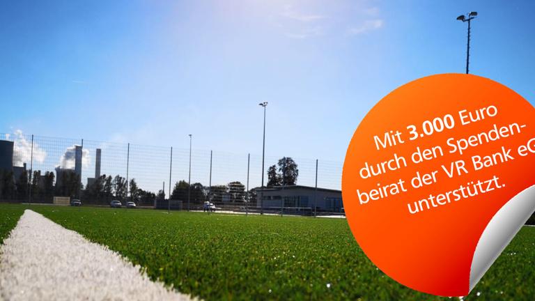 Grillhütte als Teil der neuen Crew Arena SV Rheidt