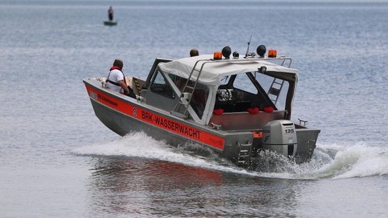 Sonar für das Rettungsboot