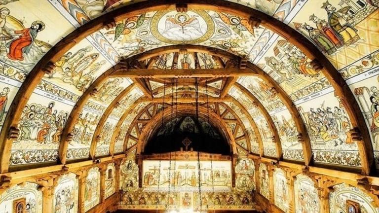 Malerei der Bonner Holzkirche