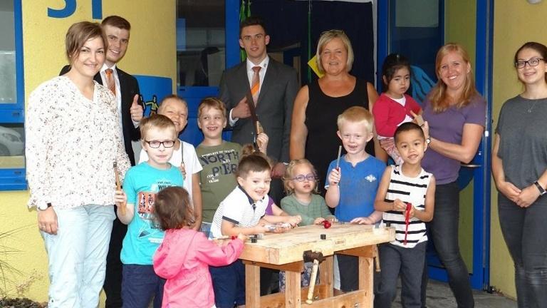 Handwerks-Atelier für den CHZ Schulkindergarten