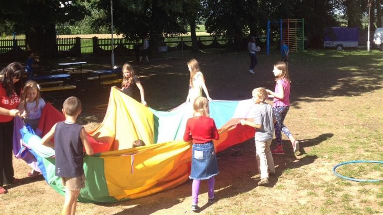 Sommerlager für Kinder in Belarus
