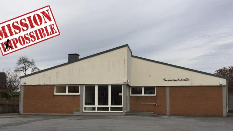 Neue Sanitäranlage Gemeindehalle Altenrüthen