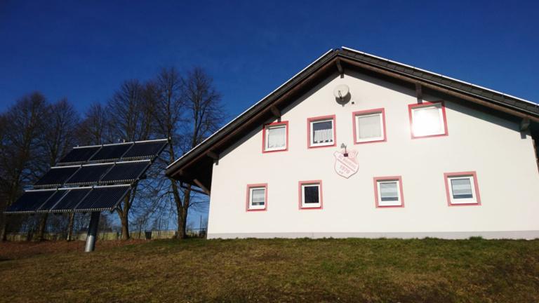 Renovierung des Sportgeländes des SC Mähring