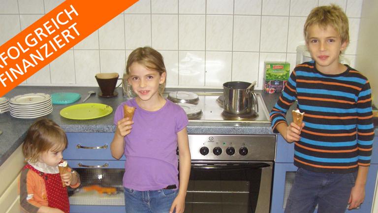 Eine neue Küche für das Kinder- und Freizeitzentrum