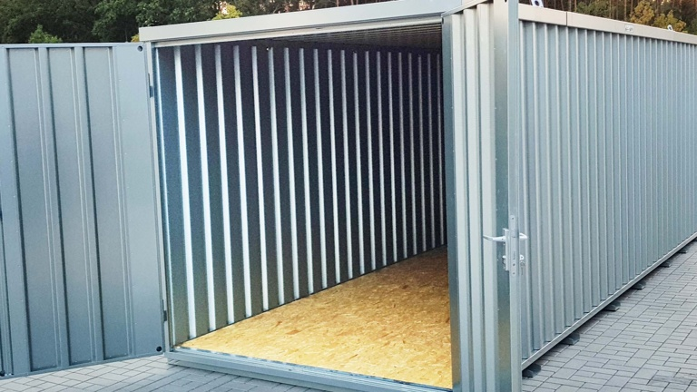 Anschaffung eines Materialcontainers