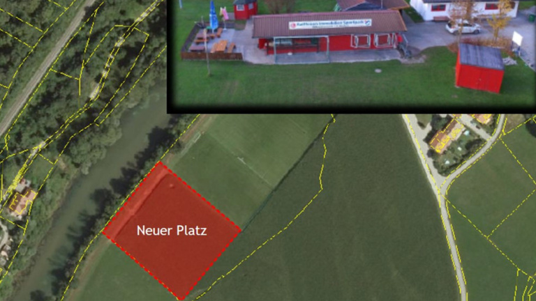 Neuer Jugendtrainingsplatz in Weidach