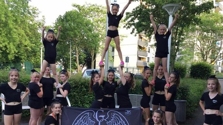 Airgym für Cheerleading