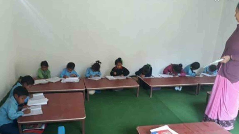 Schulausbau in Nepal -HERDECKE HILFT-