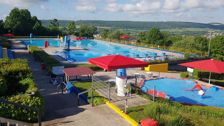 Sommer, Sonne, schwimmen, spielen