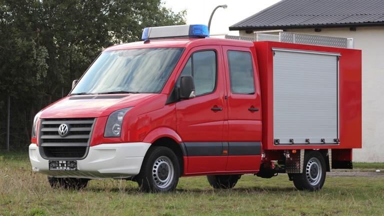 Damit wir helfen können: Neuer DRK-Gerätewagen