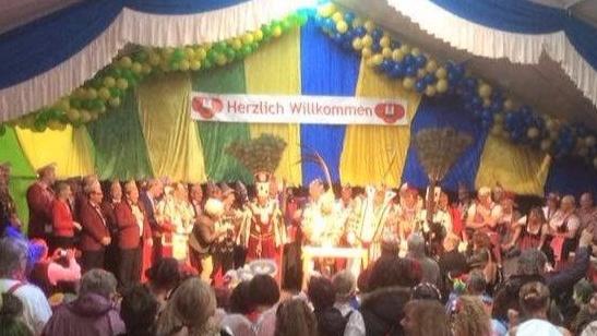 7 Veedel - 1 Kaaßel   Erhaltet unser Karnevalszelt