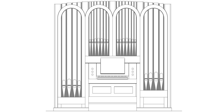 Volksbank: Neue Orgel für Wendthagen