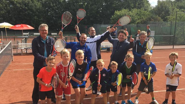 Unterstützung Tennis für Jedermann