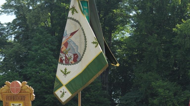Restaurierung historischer Vereinsfahne