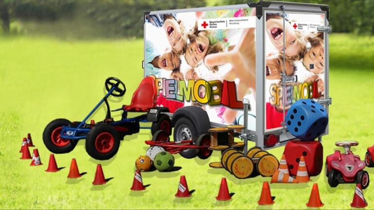 Spielmobil für das Jugendrotkreuz Würzburg