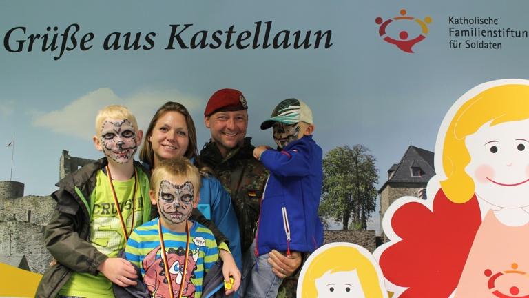 Unsere Bundeswehrfamilien - fit für den Einsatz
